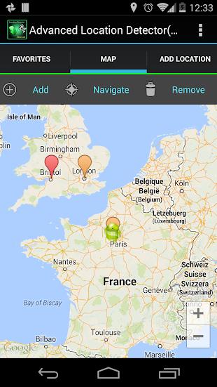 AdvancedLocationDetector (GPS)- screenshot thumbnail