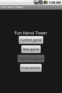 Fun Hanoi Tower - screenshot thumbnail