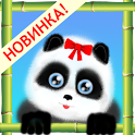 Panda mimi bears icon