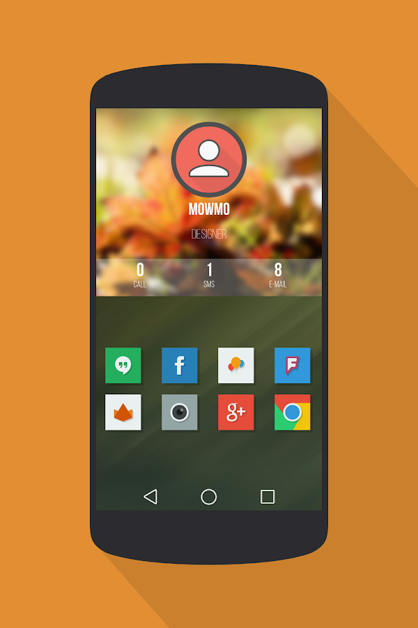 Naxos Flat Icon Pack - screenshot