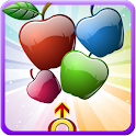 Apple Fruit  Bubble Shooter icon