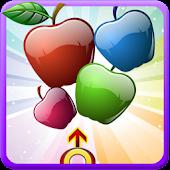 Apple Fruit  Bubble Shooter