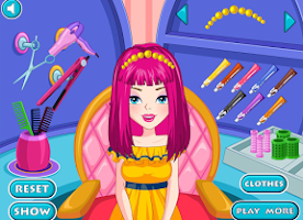 Screenshot of Hairdresser Game On Vacation