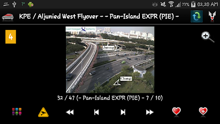 Cameras Singapore - Traffic 5.9.7 screenshot 1264669