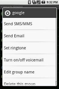 Contacts GroupU (Free) - screenshot thumbnail