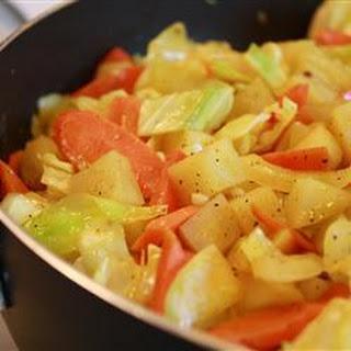 Cabbage and Potato Saute Recipe