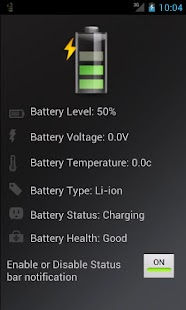 Battery Info- screenshot thumbnail