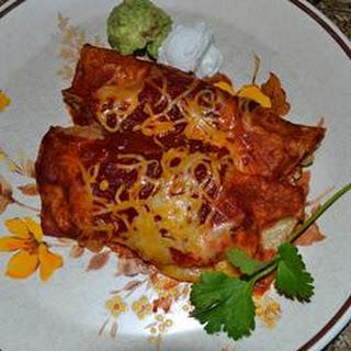 Enchiladas - New Mexico Style.