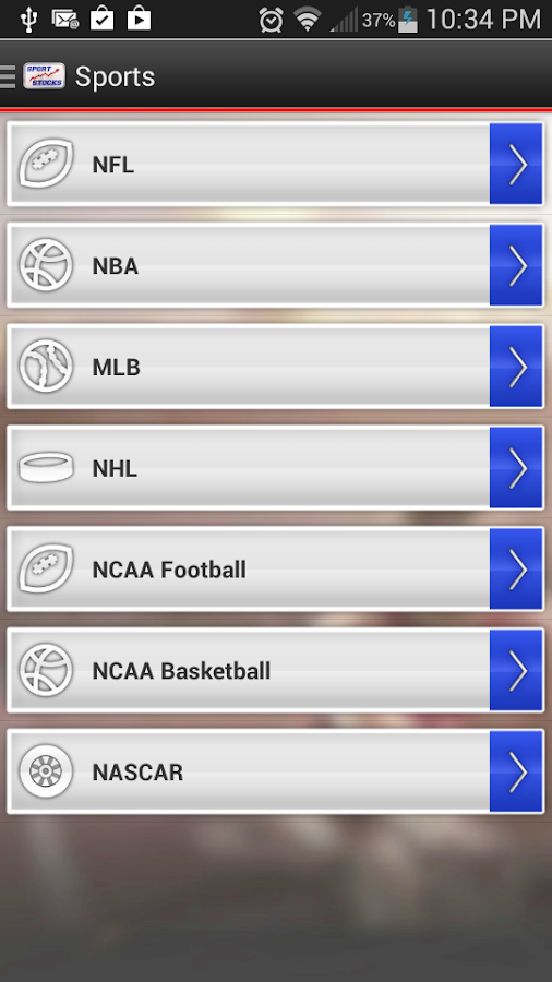 SportStocks- screenshot