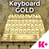 Keyboard Gold