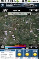 Screenshot of KYTX Radar