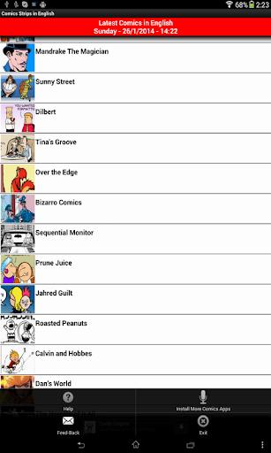 Comics Strips in English