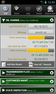 Car Maintenance Reminder Lite - screenshot thumbnail