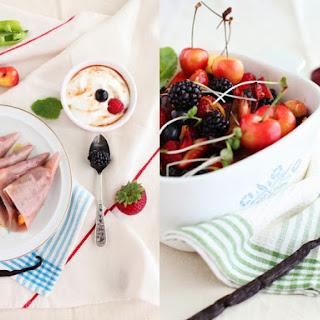 Summer Fruit Samosas