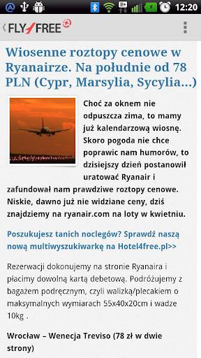 【免費旅遊App】Fly4free+-APP點子