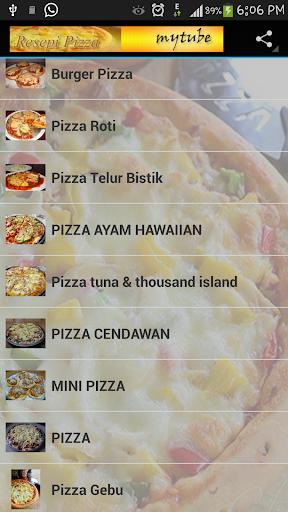 Resepi Pizza Pocket