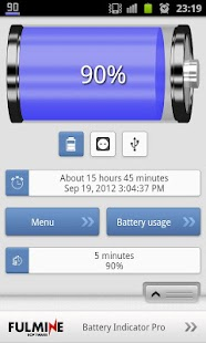 Battery Indicator Pro - screenshot thumbnail