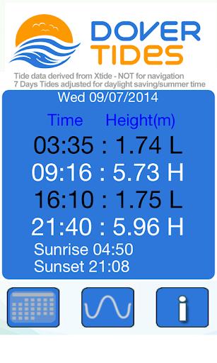 免費運動App|Dover Tides 2014|阿達玩APP