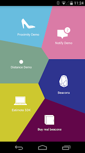 Estimote - screenshot thumbnail