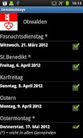 Screenshot of SwissHolidays