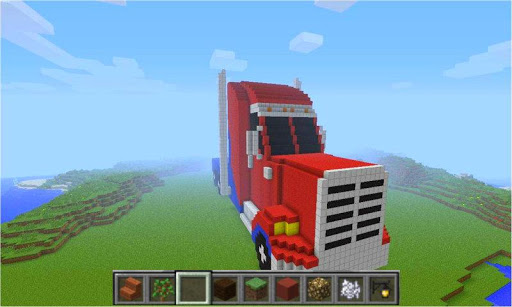 Ideas of Minecraft Truck