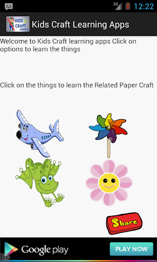 Kids Craft Learning