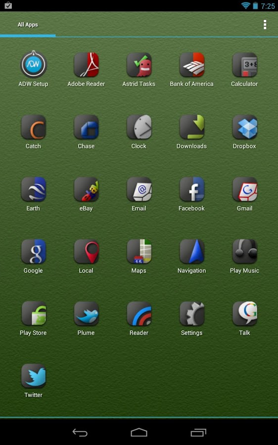 ADW.Launcher- screenshot