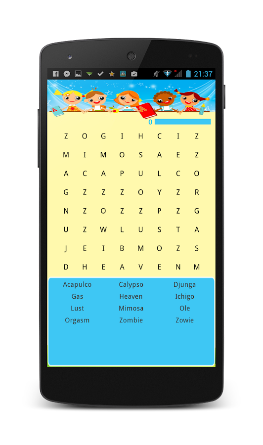 Word-search-KIDS 6