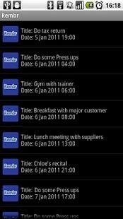 Rembr - Voice to Calendar - screenshot thumbnail
