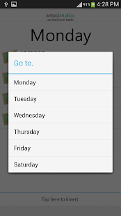 School Time Table 2014- screenshot thumbnail