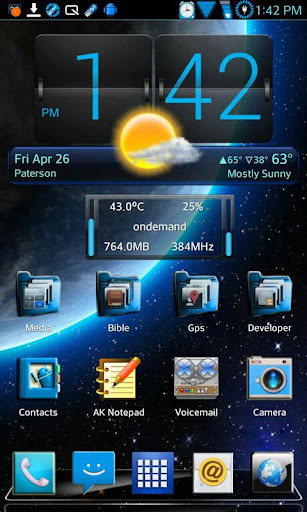 HD Optimus Pro Next Launcher