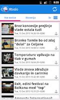 Screenshot of Slovenija Novice