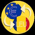 Leu Euro converter icon