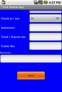 Truck Rental App - screenshot thumbnail
