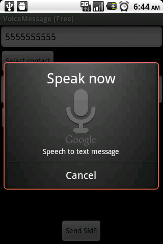VoiceMessage (Ad Supported) - screenshot