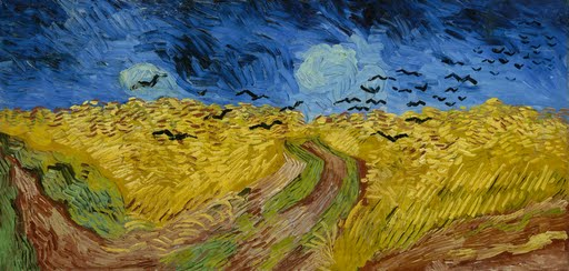 Wheatfield with crows - Vincent van Gogh - Google Arts & Culture