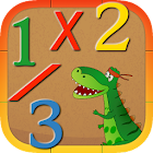 Dino Number Games: Learning Math & Logic for Kids icon