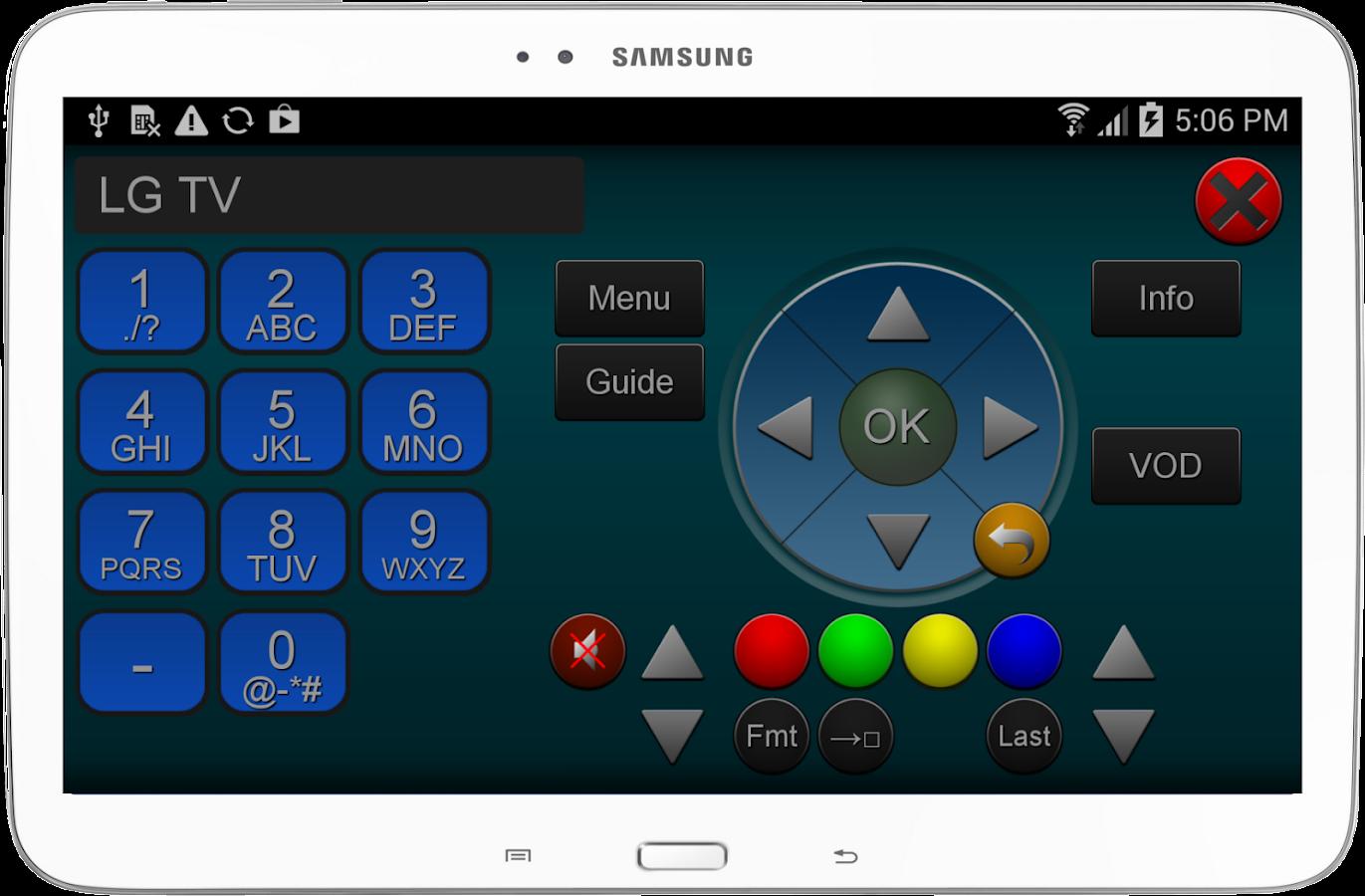 ZappIR Universal IR Remote- screenshot