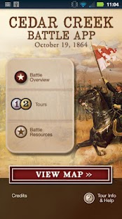 Cedar Creek Battle App- screenshot thumbnail