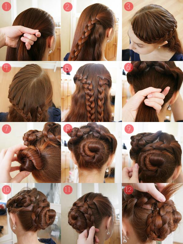 Hairstyles Step By Step be ready to stand out of crowd with this romantic heart braided hairstyle diy Step By Step Hairstyles Screenshot