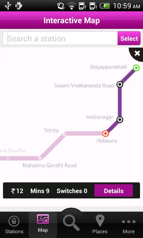 Bangalore Metro- screenshot