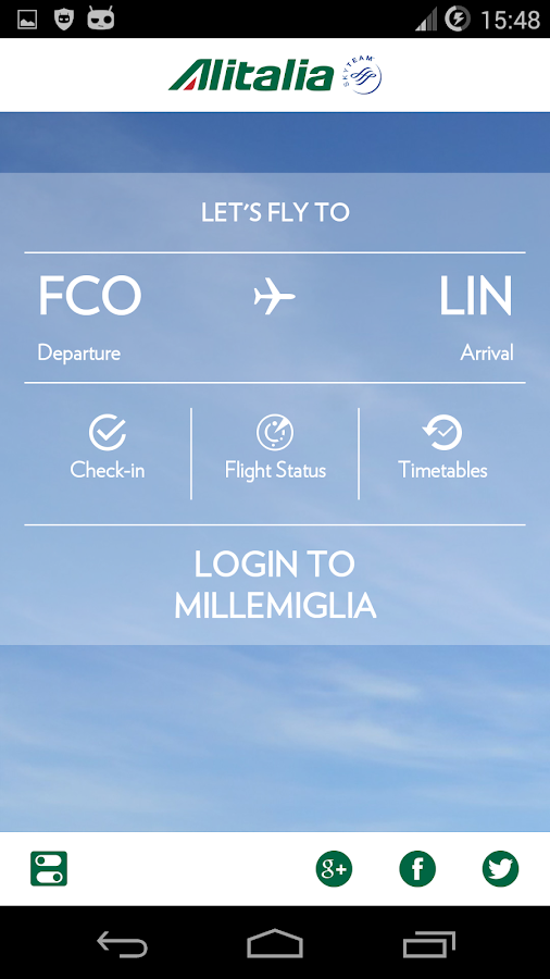 Alitalia - Android Apps on Google Play