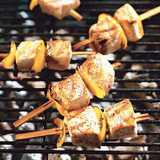 Fish Kebabs.