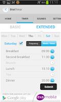 Screenshot of Diet Timer Fast Way XXL ->Slim