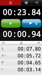 LapStar Stopwatch- screenshot thumbnail