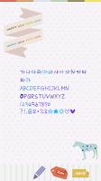 Screenshot of FontLand - 두번째쪽지