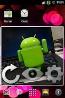 Screenshot of Slideshow (Homescreen widget)