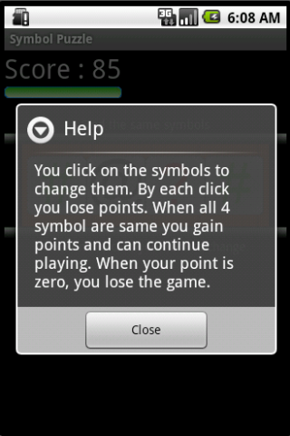 Symbol Puzzle - screenshot