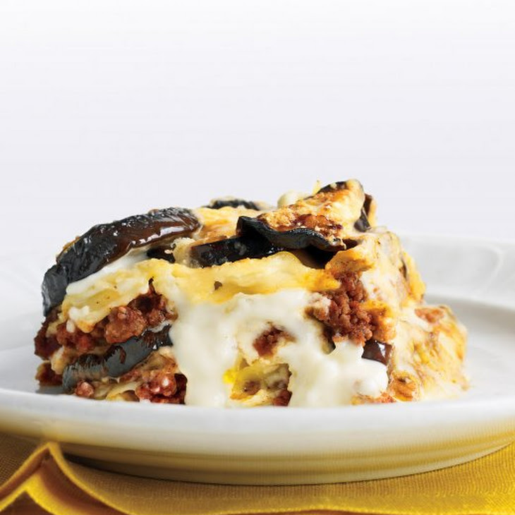 Rich Beef and Eggplant Lasagna