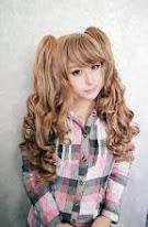 Fast Shipping 70cm/60cm Long Multi-Color Beautiful lolita wig Anime